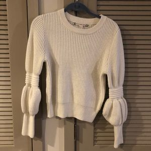 Chelsea & Violet Puff Sleeve Sweater